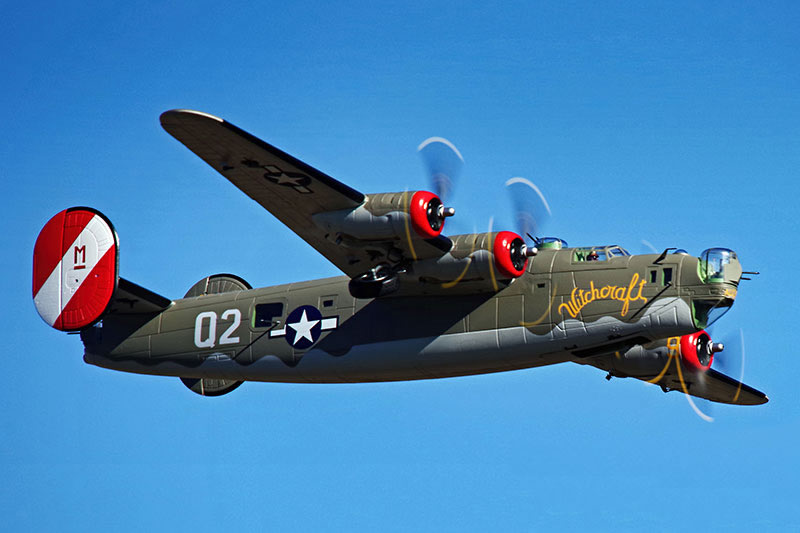 >FlightLine RC B-24 Liberator OLIVE DRAB 2000mm (78 inch) Wingspan PNP RC Airplane