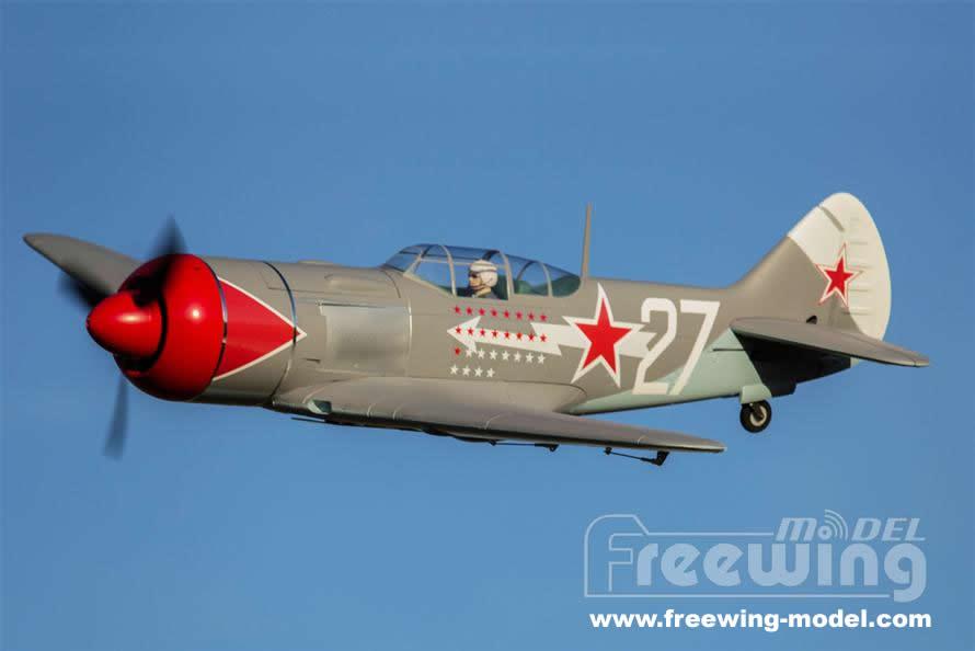 FlightLine RC La-7 1100mm (43inch) Wingspan - (PNP) RC Airplane