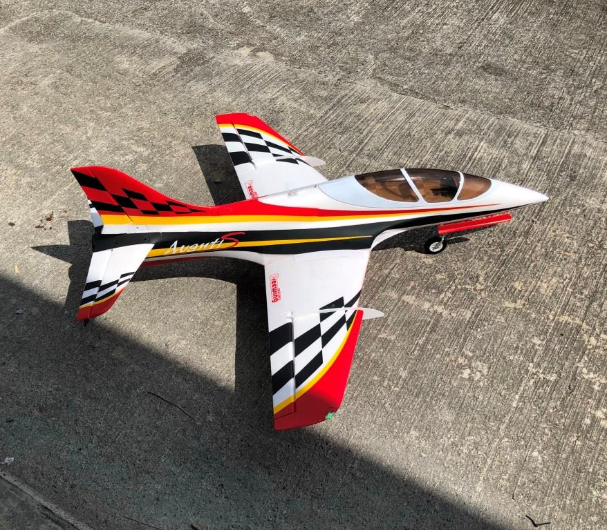 Freewing Avanti S 80mm EDF JET