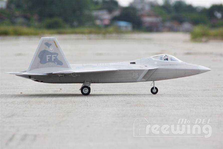 F-22 Raptor 64mm EDF Jet PNP RC Airplane