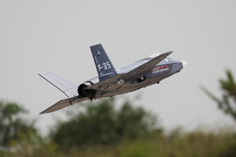 Freewing F35 Lightning II V2 70mm EDF Thrust Vectoring Jet PNP RC Airplane