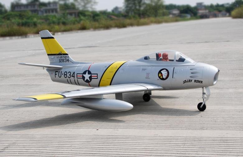 Freewing F-86 Sabre 80mm EDF Jet PNP RC Airplane