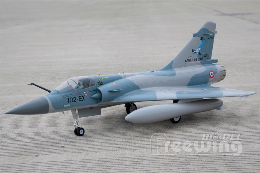 Freewing 80mm  Mirage 2000C-5 PNP Rc airplane