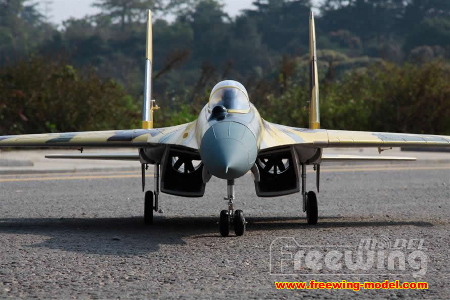 freewing su35 rc airplane
