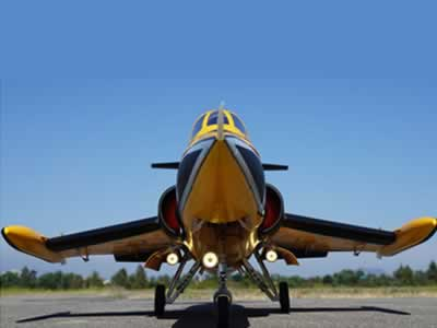 Freewing F-104 Starfighter Yellow 90mm EDF Jet- PNP RC airplane