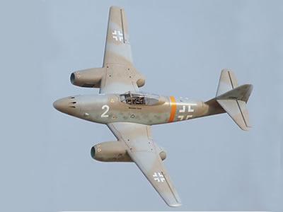 Freewing Messerschmitt Me 262 Twin 70mm EDF Jet - PNP