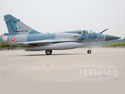 Freewing Mirage 2000C-5 80mm EDF Jet  PNP RC Airplane