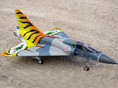 Freewing Mirage 2000C V2 Tiger Meet 80mm EDF Jet - PNP RC Airplane