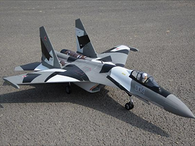 Freewing SU-35 Dual 70mm Vectored Thrust EDF Jet Kit Rc airplane