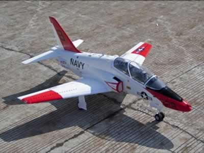 Freewing T-45 Goshawk Super Scale 90mm EDF Jet ARF+Servo Rc Airplane