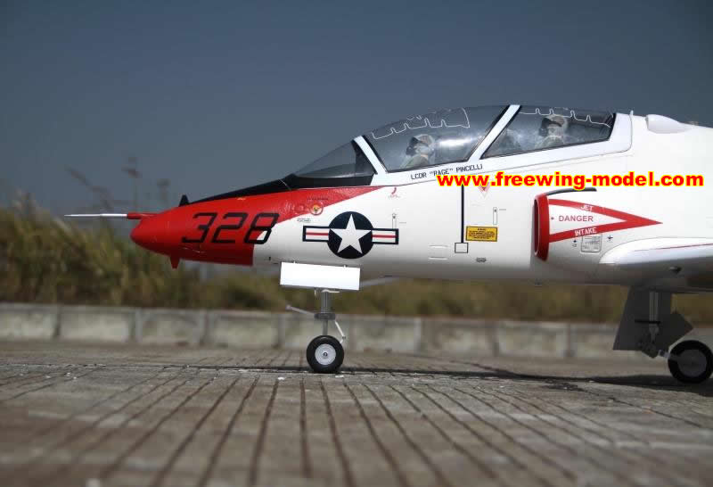 Freewing T-45 Plus Goshawk Super Scale 90mm EDF Jet PNP Rc Airplane