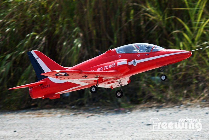 Freewing 6S Hawk T1 Red Arrow 70mm EDF Jet PNP RC Airplane