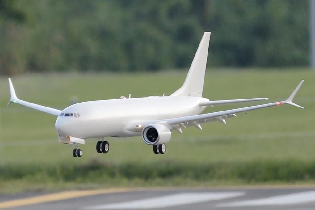 Freewing AL37 Airliner Base White Twin 70mm EDF Jet RC Airplane