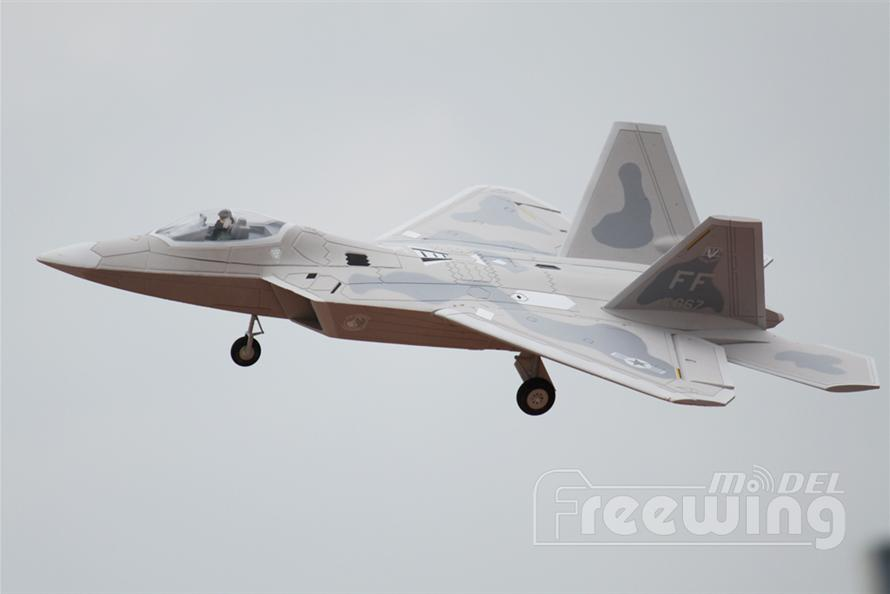 F-22 Raptor 64mm EDF Jet PNP RC Airplane