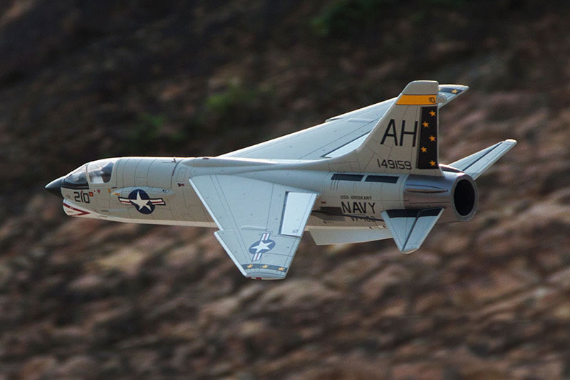 Freewing F-8 Crusader 64mm Jet KIT 3S RC Airplane