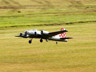 FreeWing 1600MM RC B17 Flying Fortress EPO Foam PNP Silver RC Airplane