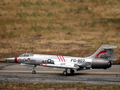 Freewing F-104 Starfighter Silver 90mm EDF Jet - PNP RC Airplane