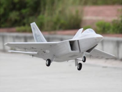 Freewing F-22 Raptor 64mm EDF Jet - PNP RC Airplane